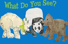 fun project for little ones. Art with the polar bear polar bear what do you see?