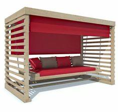 Wood swing in garden & terrace, furniture, swings | eBay!  #furniture #garden #swing #swings #terrace