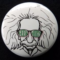 Have you seen the GSHQ Einstein pin? It is part of the Geek Icon Collection http://store.geekshirtshq.com/product/geek-einstein-badge/