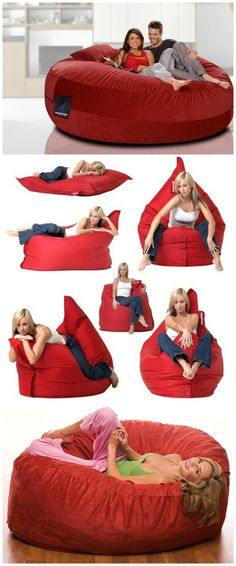 Sumo Lounge Bean Bags. Be the envy of your friends or snuggle up with your guy or gal, to experience the ultimate in style and comfort.