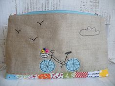 Pretty Little Pouch Swap - back | Flickr - Photo Sharing!