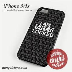 I am Sherlock 3 Phone case for iPhone 4/4s/5/5c/5s/6/6s/6 plus