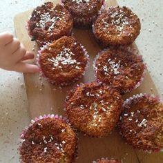 Mięciutkie amarantusowe muffinki kokosowe