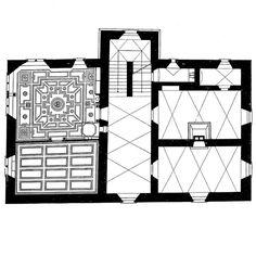 "Casa Señorial   Graubunden, Suiza   1650 jabuke: ""Valerio Olgiati, Iconographic Autobiography House in Graubunden, 1650s """