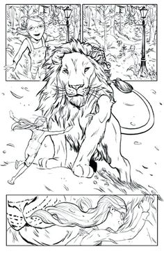 The White Witch Chronicles of Narnia Coloring Page | Lion ...