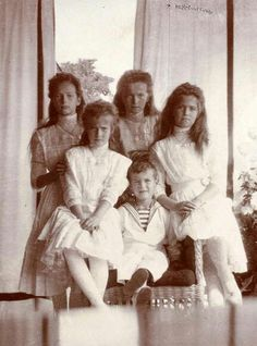The 5 children of Nicholas II & Alexandra