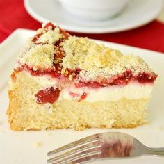 Strawberry Cream Cheese Coffee Cake - Truly the BEST Coffee Cake I've ever had!