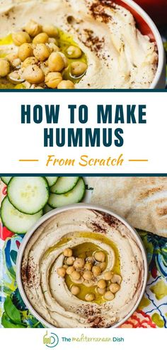 Learn how to make hummus like a pro! This is an easy family recipe for amazing tasting Hummus! This is a perfect appetizer or just a weekend snack for any time! #hummusrecipes #appetizers Classic Hummus Recipe, Best Hummus Recipe, Make Hummus, Homemade Hummus, Easy Family Meals, Easy Meals, Mediterranean Dishes, Mediterranean Appetizers, Healthy Recipes