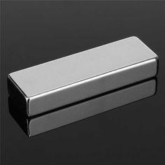 1ピース60 × 20 × 10ミリメートルn52ブロック磁石スーパーストロング立方体希土類ネオジム磁石60ミリメートル× 20ミリメートル× 10ミリメートルマグネット高品質