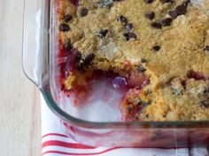 """Some say this dessert is more of a cobbler than a cake, but we say, """"Who cares?"""" It's sweet and gooey, and barely requires effort."""