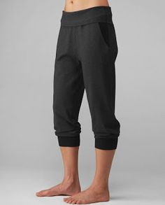 Lululemon Vita Crop  love these!!  Heathered Charcoal HCHR $86 but sale