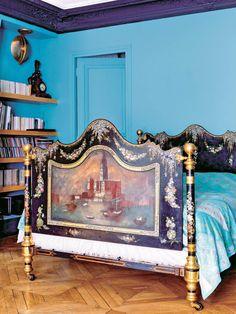 【ELLE DECOR】19世紀の夢を見る、煌びやかなベッドルーム|エル・オンライン