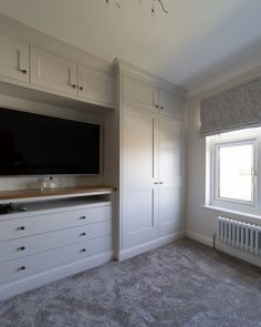 Built In Bedroom Cabinets, Bedroom Built In Wardrobe, Bedroom Built Ins, Living Room Built Ins, Built In Dresser, Closet Built Ins, Bedroom Closet Design, Master Bedroom Closet, Master Bedroom Design