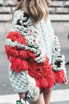 Paris Fashion Week Fall Winter 2015 Street Style Pfw Chiara Ferragni Del Pozo 790x1185