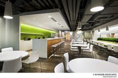 Working creativity into space | Exposed ceiling | corporate commercial