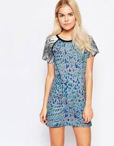 De sejeste Style Stalker Welcome to the Jungle Dress - Multi Stylestalker Designer Brands til Damer i behageligt materiale