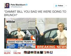 Funniest Donald Trump Inauguration Memes: Hillary Clinton Arrives at Trump Inauguration