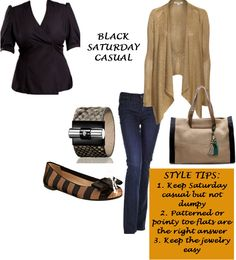 The Black Saturday Casual look is perfect for me! Thx @Blueprint4Style 4 the look & @ShopPresenza 4 the chance to win it! #showlessbreast