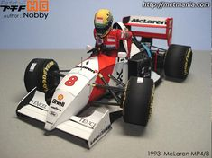 Ayrton Senna`s Formula 1 Paper Model By Metmania Papermau, Rally Cars Print Out Papercraft Paper Model Car, Paper Car, Paper Models, Paper Toys, Subaru Rally, Rally Car, Gtr Car, Subaru Impreza Wrc, National Car