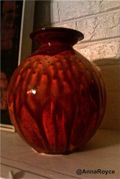 Slip mold - low fire glaze - vase