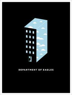 Insound Department of Eagles Poster Giveaway Winner - OMG Posters! Gig Poster, Eagles Poster, Jason Munn, Broken Social Scene, Etch A Sketch, Children's Book Illustration, Design Inspiration, Design Ideas, Graphic Design