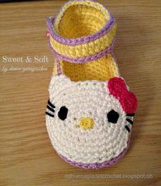 Zapatillas y zapatos a crochet, los mejores regalos para recién nacido. | Aprender manualidades es facilisimo.comtutorial
