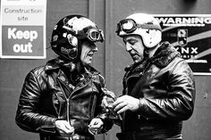 Talkin' about . Scrambler Custom, Triumph Scrambler, Motorcycle Posters, Motorcycle Helmets, Vintage Cafe Racer, Greaser, Bike Style, Vintage Motorcycles, Hair And Beard Styles