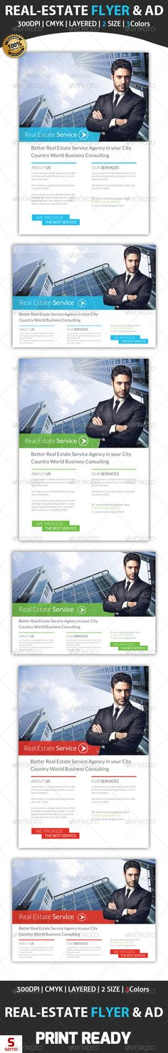Real Estate Service Flyer & Ad Template