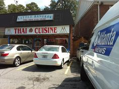 Little Bangkok, a favorite, homey, Thai restaurant in midtown Atlanta.  No frills, just good food.