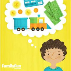 A Clever Savings Strategy: A mom invents a scoring system to let her son earn his playthings and learn about finances in the process.
