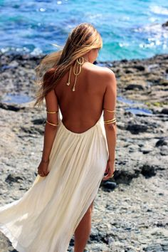 Summer Outfits, Casual Outfits, Summer Dresses, Beach Girl Style, Beach Look, Boho Fashion, Girl Fashion, Beach Style Fashion, Bohemian Mode