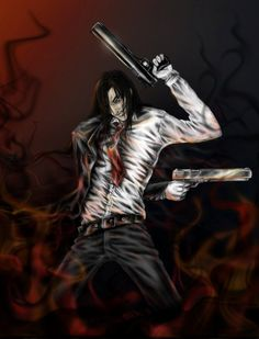 And Alucard again. Manga Anime, Anime Art, Hellsing Alucard, Vampire Knight, Anime Comics, Greys Anatomy, Darth Vader, Cosplay, Deviantart