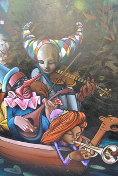 Lower Haight Street Art/ Murals - San Francisco
