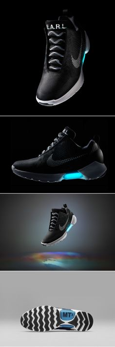 Self-Lacing Nike HyperAdapt 1.0 Sneakers - Design Milk