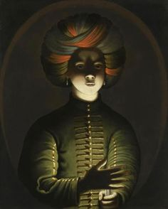 """""""Young Man in Turkish Dress with a Candle"""" by Wolfgang Heimbach (17th century)"""