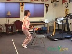 Exercises for the older person or those with arthritis or knee problems: stretching, flexibility, other good info. Includes videos as how tos hip problems exercise Strength Training Workouts, Toning Workouts, At Home Workouts, Leg Toning, Beginner Workouts, Leg Strengthening Exercises, Calf Exercises, Ankle Stretches, Hip Flexibility