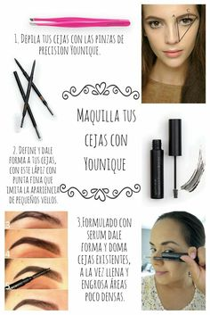 3d Fiber Lashes, Tips Belleza, Serum, Spanish, Mary, Make Up, Women, Beauty Makeup, Makeup Tips