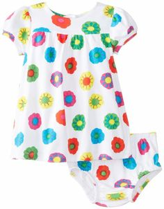 Amazon.com: marimekko Baby-Girls Newborn Dress with Panty Set Hilpea: Clothing