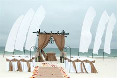 Another gorgeous beach wedding at Gulf State Park in Gulf Shores, Alabama!