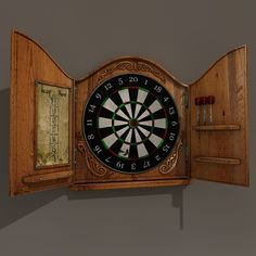 Antique Dart Board Set