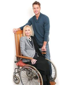 Justin Hartley & Sally Kellerman