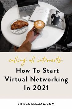 tips on how to feel more confident with networking virtually, because 2021 has allowed us to make new online connections – so how can we make more online friends and meet more people who share our values? read more for 8 tips for self-promotion and making virtual connections Career Goals, Life Goals, Relationship Goals, Online Friends, Make New Friends, Extroverted Introvert, What Inspires You, Toxic Relationships, Kinds Of People