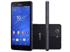 MagazineJr: Smartphone Sony Xperia Z3 Compact 16GB 4G - Câm. 2...