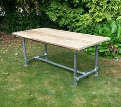RUSTIC-RECLAIMED-URBAN-INDUSTRIAL-VINTAGE-SCAFFOLD-TABLE-FARMHOUSE-6FT-X-3FT