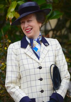 Princess Anne attends the Easter Mattins Service in Windsor