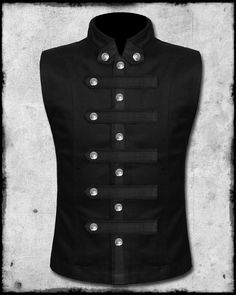 Arcanum: Of Steamworks and Magick Obscura Gothic Steampunk Mens Steampunk Vest, Steampunk Coat, Steampunk Fashion, Gothic Fashion, Gothic Steampunk, Indian Men Fashion, Mens Fashion Suits, Style Costume Homme, Military Vest