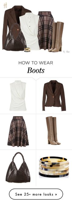 """""""Yes!!..The Boots"""" by ksims-1 on Polyvore featuring Ungaro Fever, Carven, Nancy Gonzalez, Tory Burch, Nest and John Hardy"""