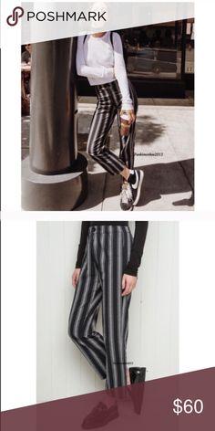 Brandy Melville striped Tilden pants NWT Brandy Melville Pants