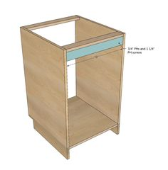 Best Ana White Build A Face Frame Base Kitchen Cabinet 400 x 300