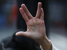 Leonard Nimoy 's logical legacy to science and technology Film Star Trek, Watch Star Trek, Star Trek Spock, Leonard Mccoy, Baka To Test, Starship Enterprise, The Final Frontier, Book Of Mormon, Comedy Tv
